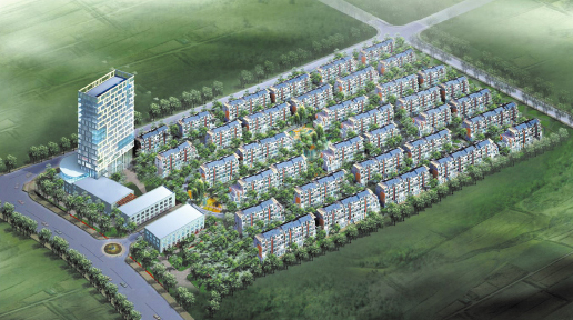 凤来仪小区规划图